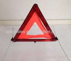 Emergency reflector warning triangle