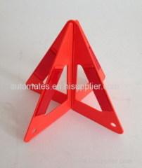 Roadside reflective warning triangle