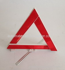 Warning triangle kit for car emergency