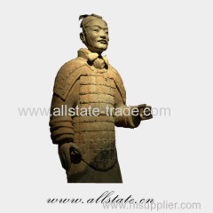 Shaanxi Xi'an Bronze Terracotta Warriors Statue Souvenir