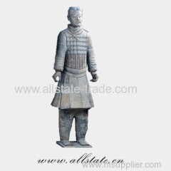Shaanxi Xi'an Bronze Terracotta Warriors Statue Replica