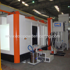 cyclone powder spray Booth