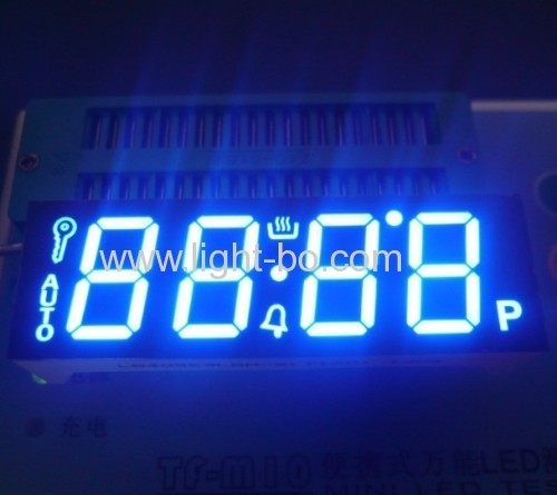 Ultra Red 0.56 4 Digit 7 Segment LED Display common cathode fro oven control