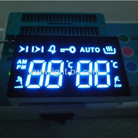 Ultra red Common cathode 4 Digit 7 segment led display for oven timer control