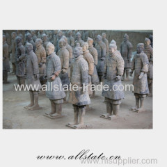 terracotta warrior soldiers standing