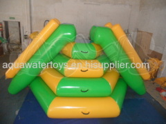 Inflatable Floating Climbing Slide