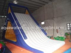 Inflatable Floating White Slide