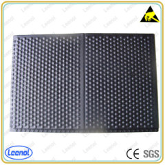 cleanroom anti-slip and soft esd anti-fatigue mat