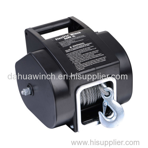 Mini 12v electric anchor winch for boats/Boat trailer winch 5000 LBS