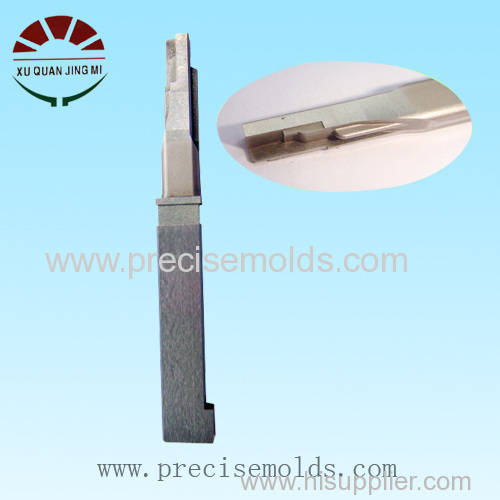 Injection mold cavity insert