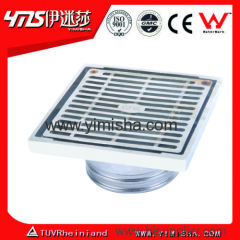 High Grade Square Casting Stainless Steel Floor Drain 6379-A