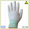 LN-8007F ESD less carbon top fit glove /esd working gloves