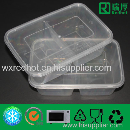 Divided Plastic Storage Container for Food Packing D650 manufacturer