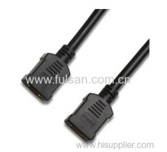 high quality female to female hdmi cable support 3D