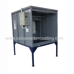 powder painting spray booth