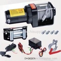 12v ATV electric winch 3000 Lbs