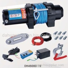 4500lbs electric winch for ATV