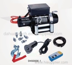 Off-Road Winch 5000lbs Rated line pull