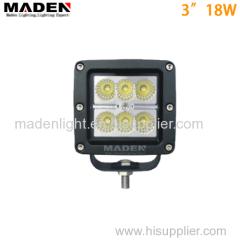 "3"" 18W super bright led work light SUV 4X4 ATVs MD-3180"