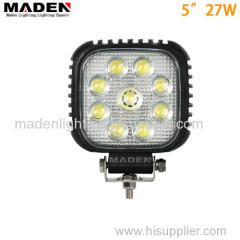 "5""27W auto LED work light work lamp work light led MD5270"