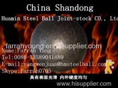 Huamin Forged Grinding Ball