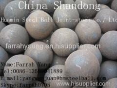 Supplying Steel Forging Ball