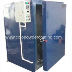 powder painting curing oven