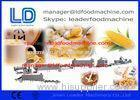 Extruded Breakfast Cereals Machine for corn flakes / rice flakes food processing line