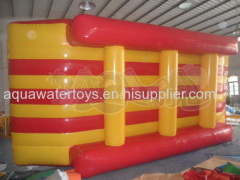 Inflatable Floating Yellow-Red Island