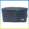 Latest wholesale promotional toilet bag satin cosmetic bag