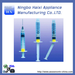 auto detruct syringe with FDA and UL