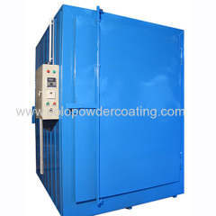 powder paint coating oven