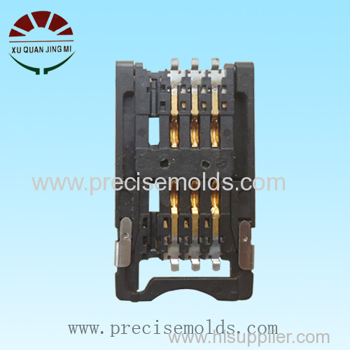 Precision Card connector mold