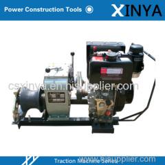 3 Ton Winch with Diesel Engine