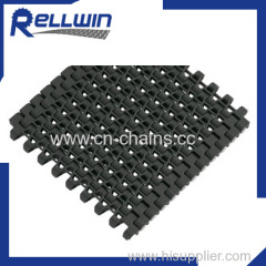 Modular Belt Flush Grid 1230 plastic conveyor belt pitching 12.7mm