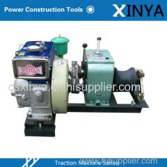3 Ton Diesel Engine Powered Winch