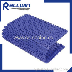 1201B Flush Grid Modular plastic conveyor belt 31.75mm pitch