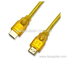 3D supported hdmi cable for home theatre full HD 1080P