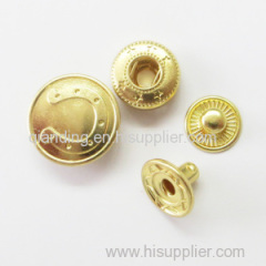 Press Button Golden Color be used for the garments shoes and bags