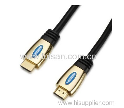 1080P Colorful HDMI Cable Gold Plated with Ethernet