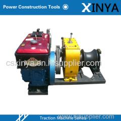 8 Ton Portable Diesel Powered Winch