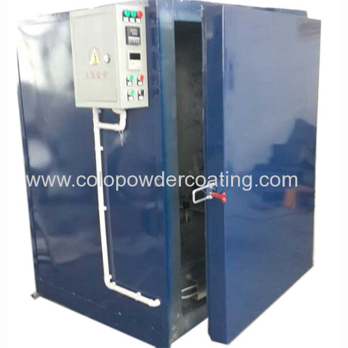 powder coating oven exported to Peru