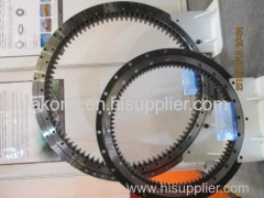 Hyundai excavator slewing ring swing gear
