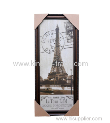 Dark Polysterene Photo Frame Without Stand