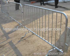 Interlocking Infilled Pickets Crowd Control Barrier