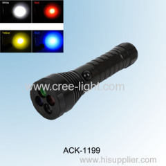 2014 new! 4 color CREE XPE R2 high power tactical flashlight ACK-1199