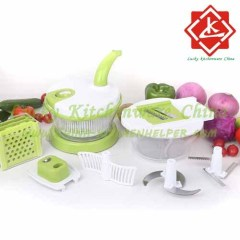 Salad chef/Multi-Function Salad Spinner/Magic Chopper
