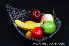 fashion design metal wire mesh fruit & bread baskets