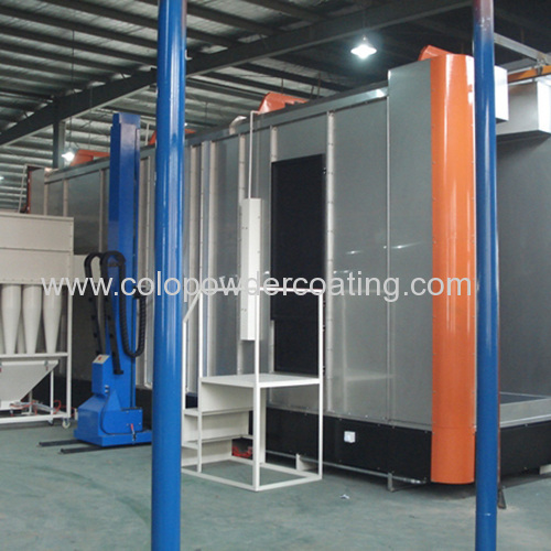 industrial powder coating booths