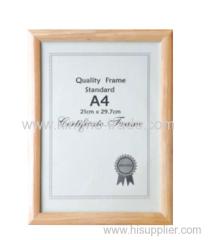 A4 Quality Frame Standard
